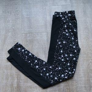 Victoria Secret PINK Leggings Splatter Pattern Med